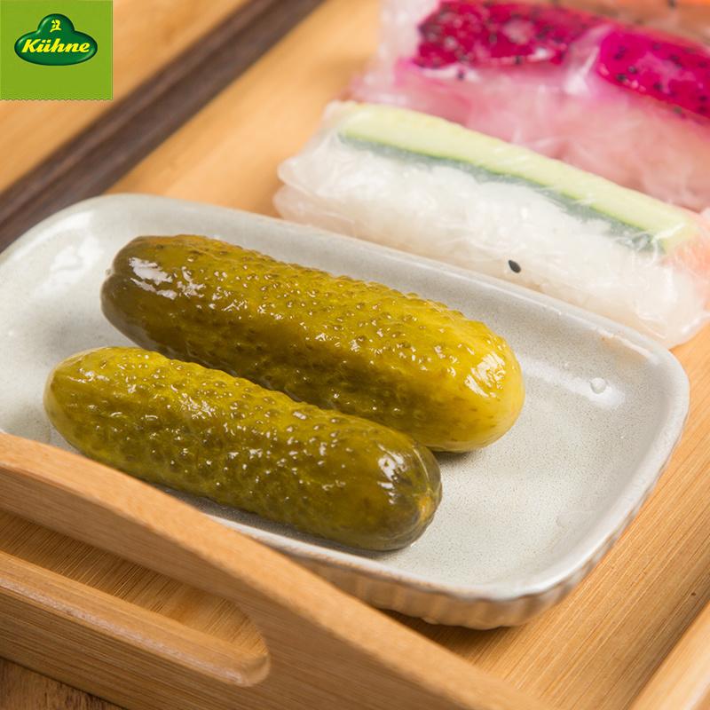 冠利俄式酸青瓜酸黄瓜670g腌黄瓜酱菜汉堡沙拉意面配菜德国进口