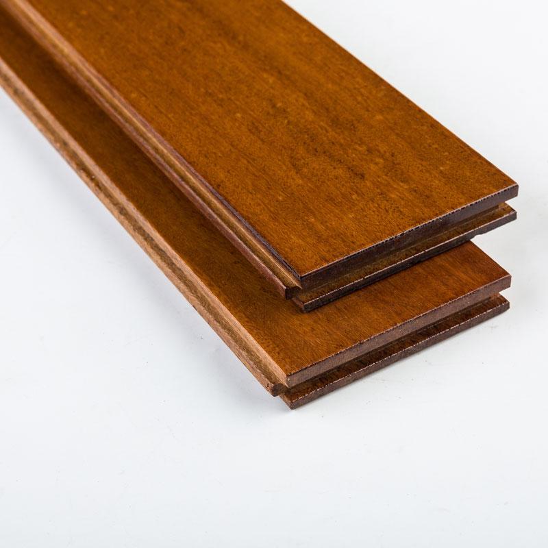 纯实木地板3A级 紫楠木(米仔兰)18mm无甲醛环免龙骨保厂家直销