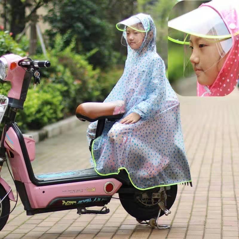 百利达儿童雨衣男童女童幼儿园宝宝防水雨披小学生小孩带书包位