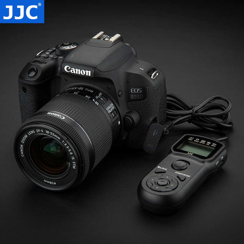 JJC 佳能RS-60E3定时快门线200D 750D 760D 70D 80D 77D 1500D G1M3 800D 100D 700D M5 M6 EOS R RP专微