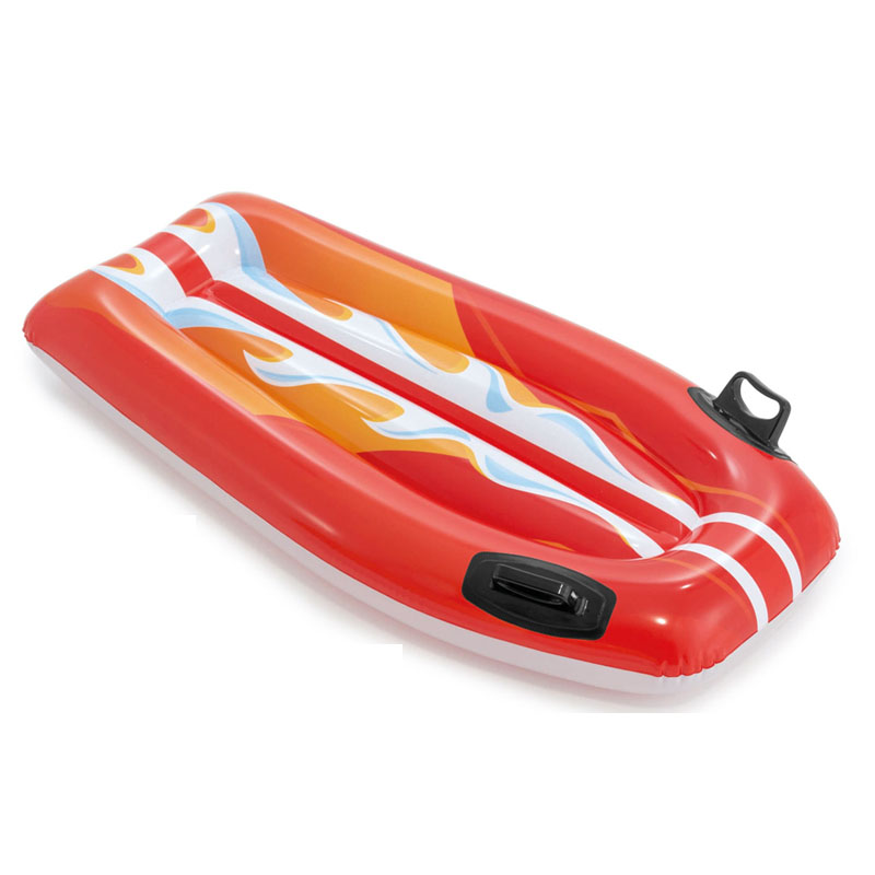 INTEX浮排浮床水上漂流衝浪躺椅充氣坐騎成人游泳圈水上裝備用床