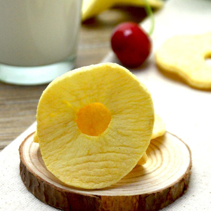 好果源苹果干脆片苹果片无加油脱水苹果圈水果干烟台特产礼盒