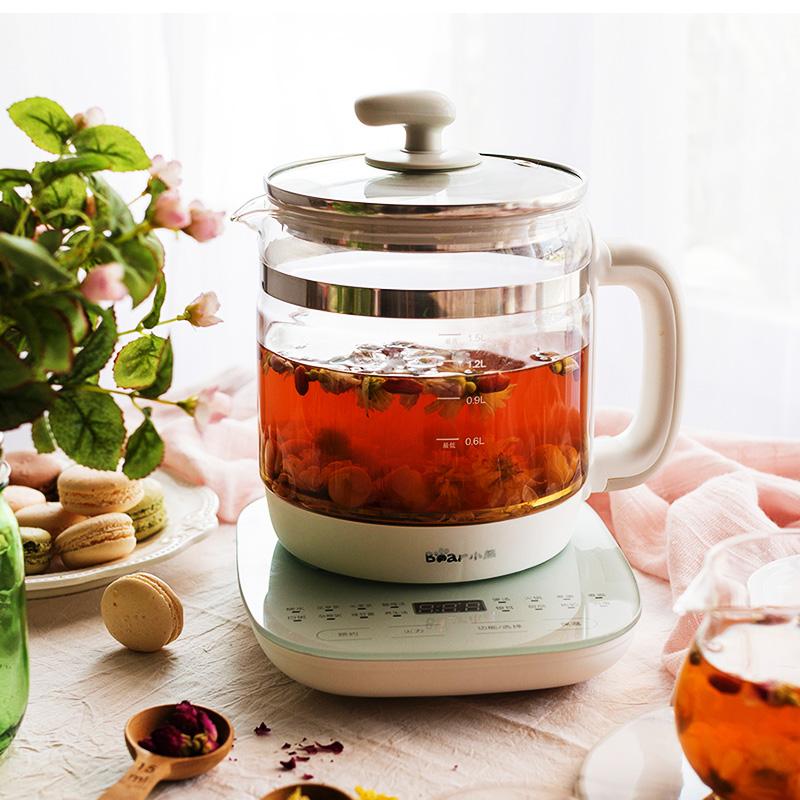 小熊养生壶家用小全自动玻璃多功能电煮茶壶煮茶器电器官方旗舰店