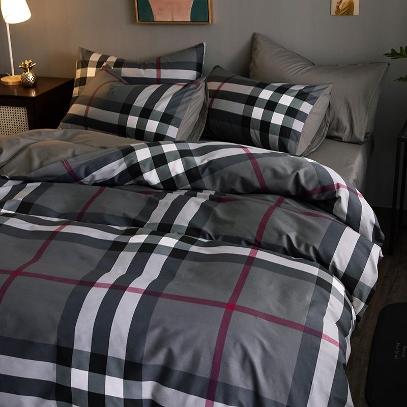 三件套床笠被套4床单