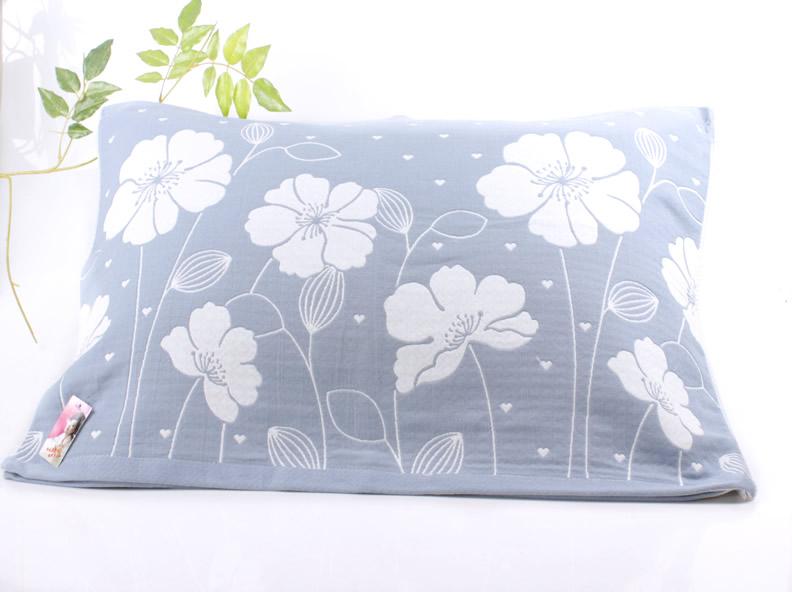 天天特价四季枕巾一对纯棉布料三层纱布高档枕头巾正品成人夏季