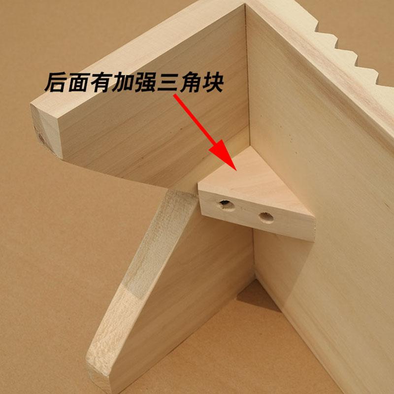 搓衣板实木洗衣板搓板跪用家用加厚带脚大号木质跪定制加宽