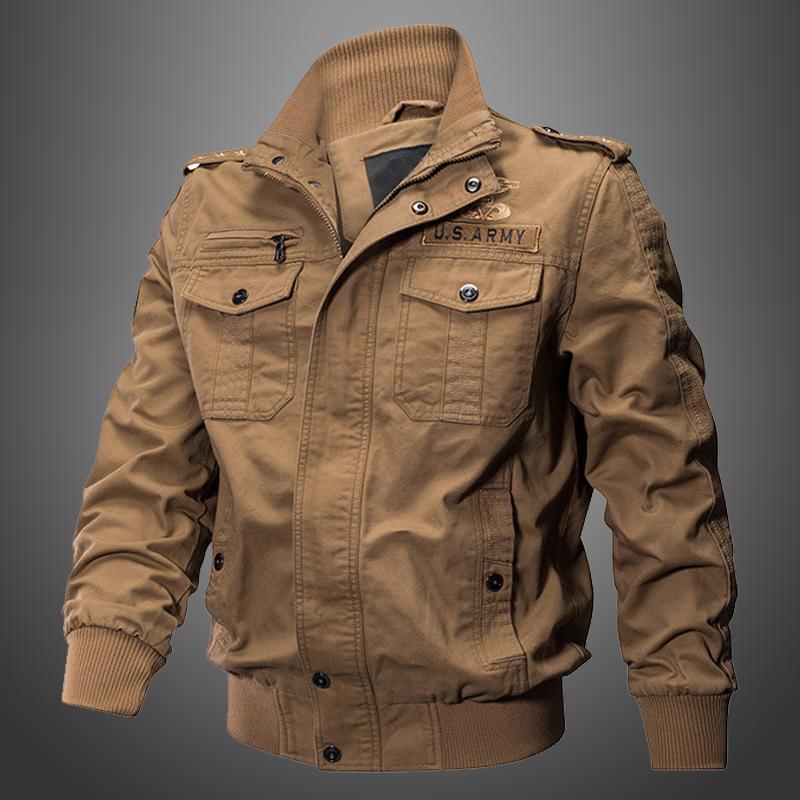 2019春季特种兵男士多口袋军装外套纯棉休闲工装夹克大码宽松耐磨