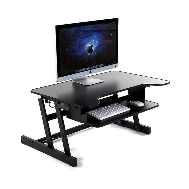 笔记本电脑支架托架桌面升降增高架子底座站立着工作办公电脑支架