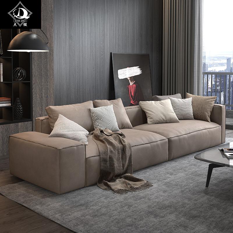 户型直排沙发组合轻奢