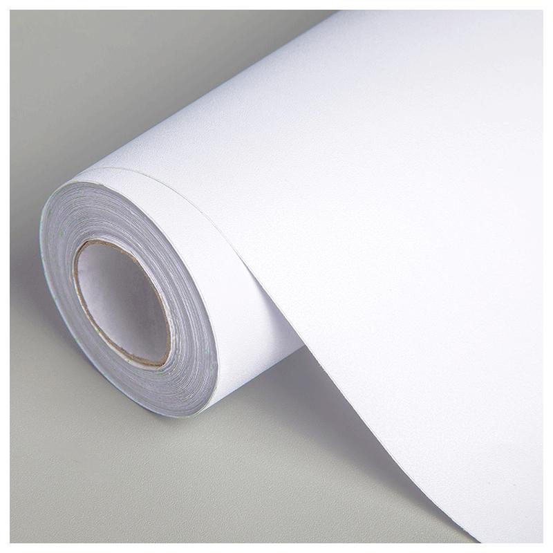 米加厚自贴壁纸十米 10 纯白色墙纸自粘防水可擦洗卧室温馨墙贴宿舍