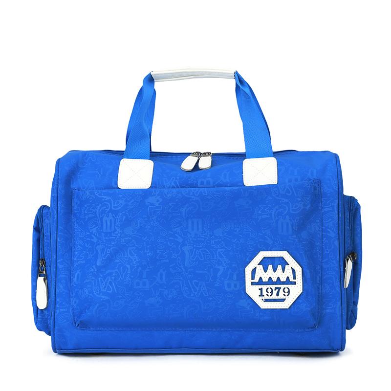 旅行袋單肩旅行包輕便女短途手提包衣服行李包旅遊包學生行李袋