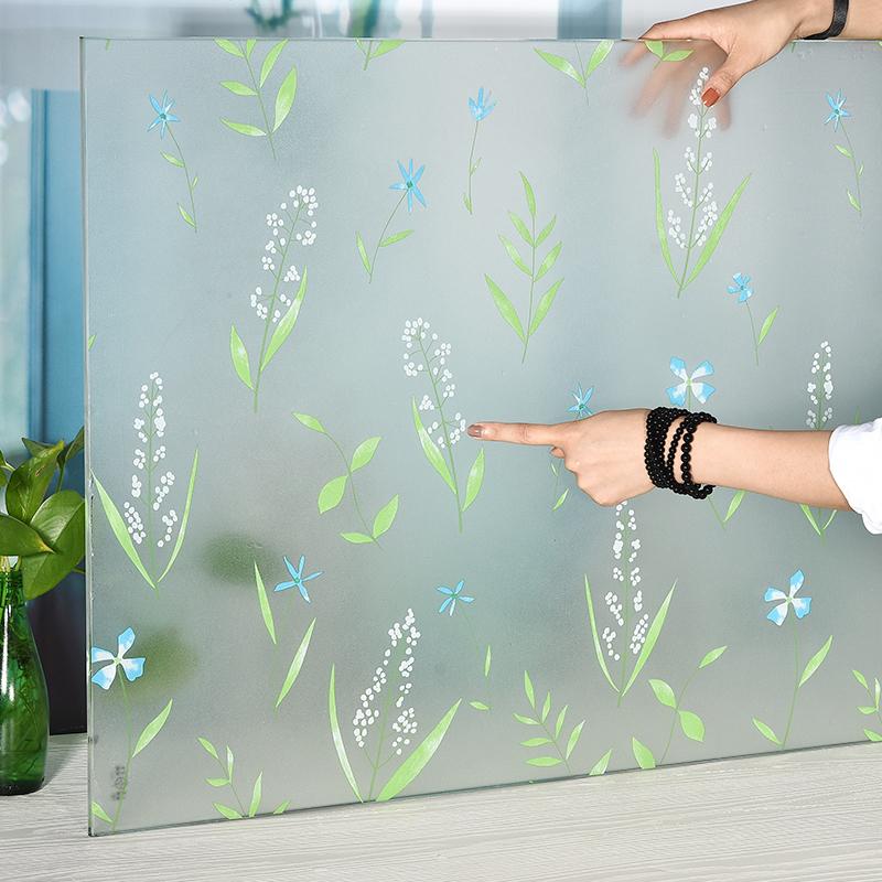 窗户玻璃贴纸透光不透明防走光贴膜卫生间浴室阳台移门窗贴窗花纸