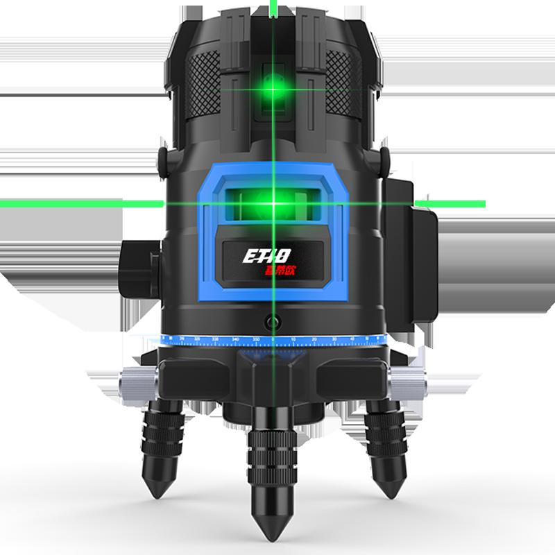 线蓝光平水仪激光自动打线投线仪 5 线 2 红外线水平仪绿光高精度强光