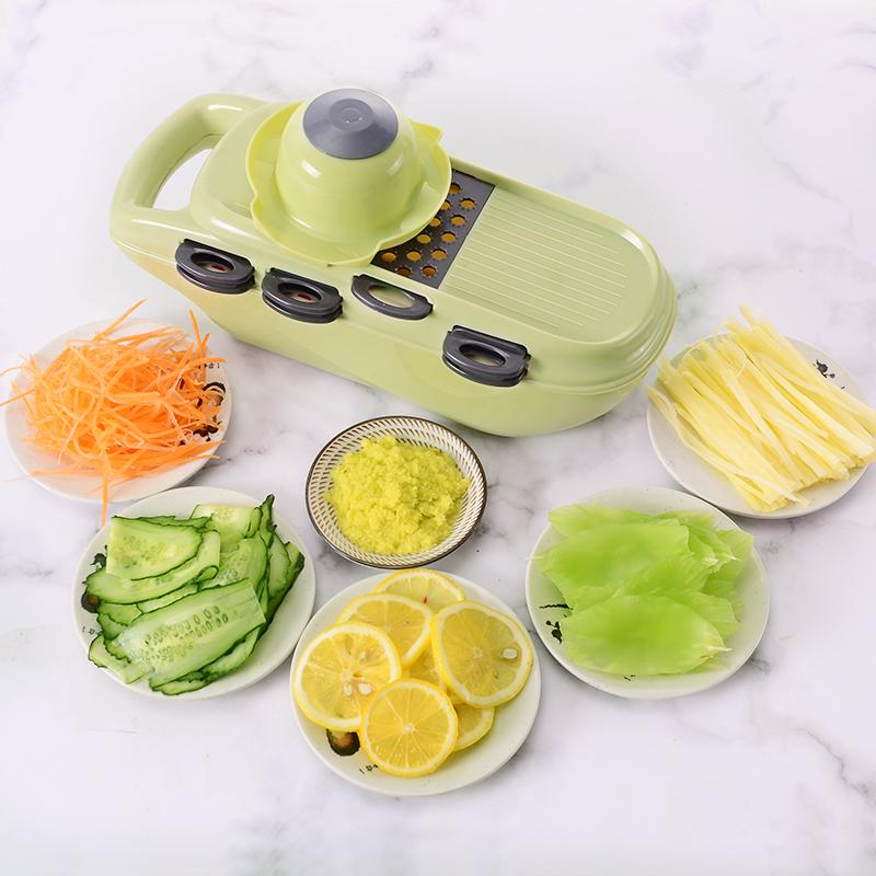 美之扣家用厨房擦子削土豆丝切菜神器多功能刨擦丝器擦萝卜丝切片