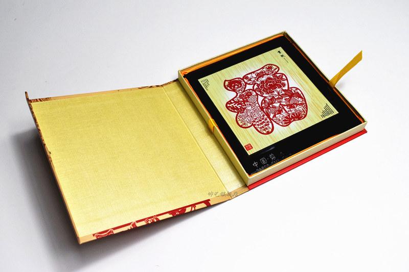 十二生肖剪纸中国传统手工剪纸相框摆件中国风特色外事出国小礼品