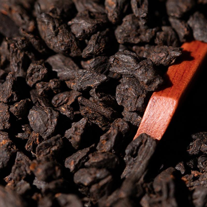 克 250 清承堂茶化石碎银子普洱茶熟茶糯米香金不换老茶头茶叶