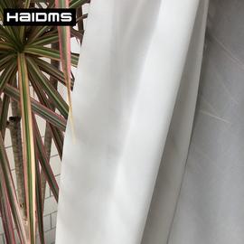 窗纱简约北欧现代隔断客厅雪纺白纱阳台窗帘白色纱帘透光不透人纱