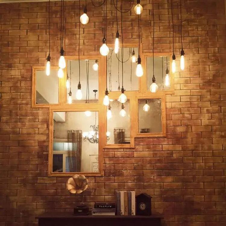爱迪生灯泡复古钨丝装饰灯泡e27螺口艺术创意照明吊灯暖黄光源
