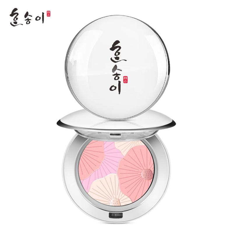 韩朵 花漾盈彩谜色浮雕腮红 孕妇可用化妆品孕期彩妆 10g