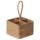 藤编桌面收纳筐红酒架摆件酒杯遥控器带分格收纳手提篮家用北欧 mini 4