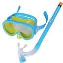 泳镜男女儿童防水游泳眼镜 潜水镜套装呼吸管半干式浮潜游泳装备 - 1