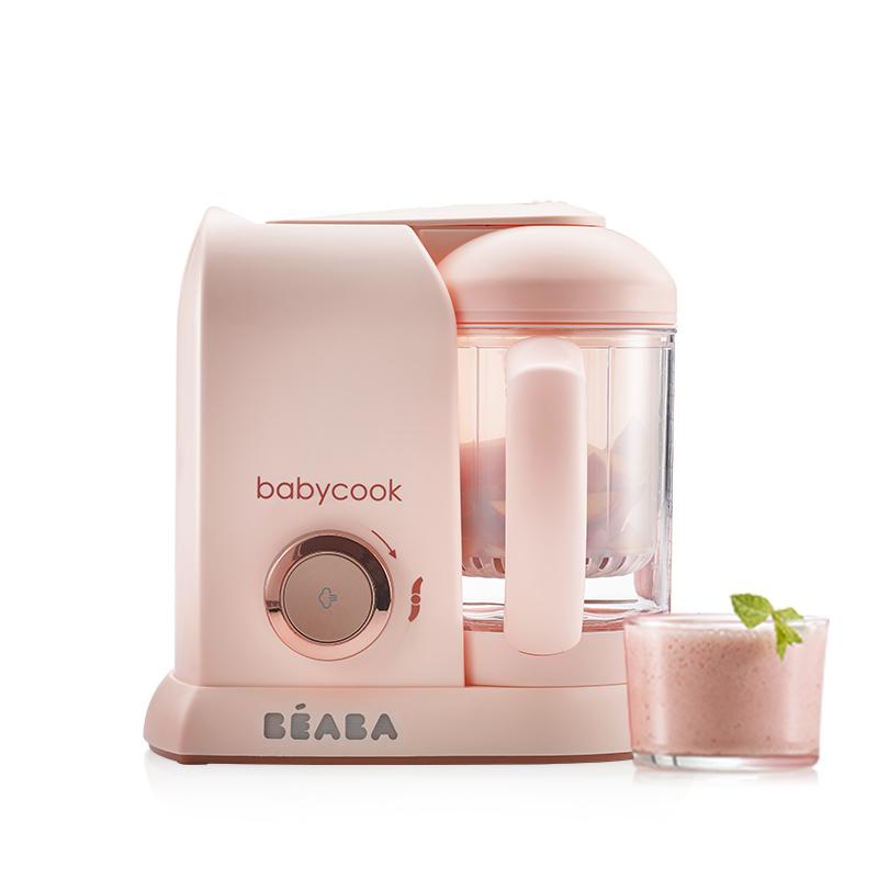 法国beaba婴儿辅食机宝宝多功能蒸煮搅拌一体料理研磨器babycook