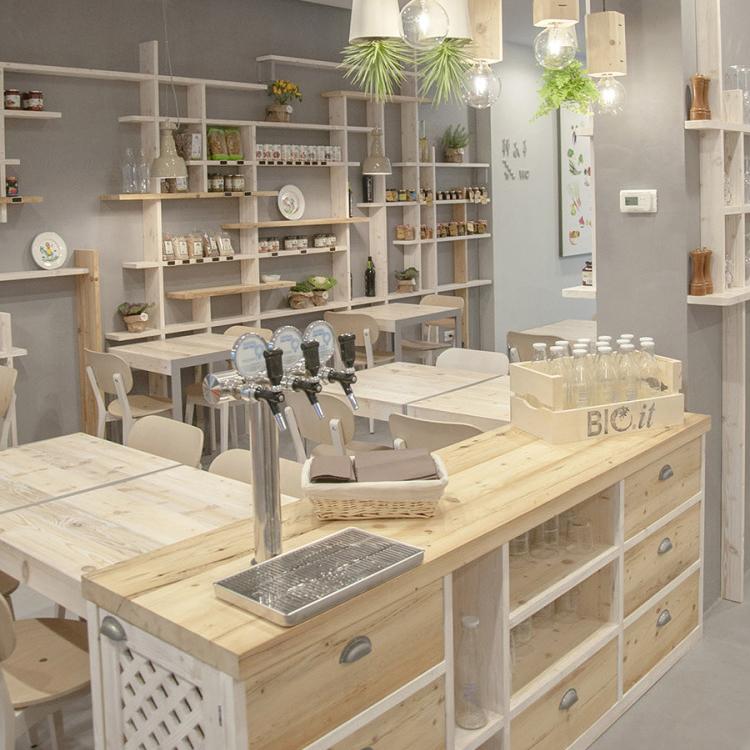 餐厅实木餐桌面板定制奶茶店咖啡厅小方桌 网红桌椅组合 简约餐桌