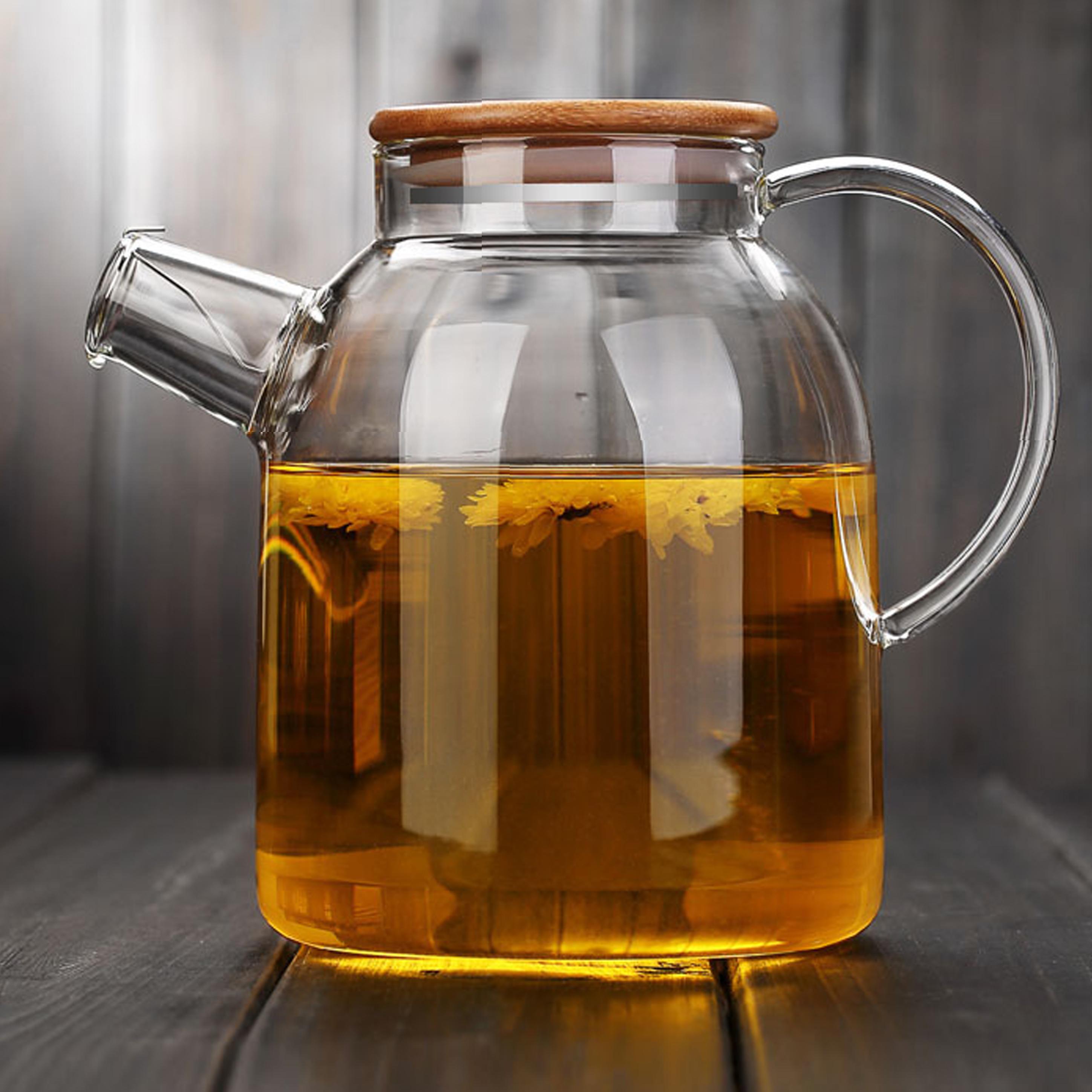 直火高硼矽 無鉛 家用 玻璃水壺冷水壺 果汁壺茶壺 開水壺熱水壺