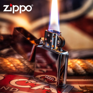 ZIPPO打火機正版 原裝限量男士商務黑冰150zl正品 防風煤油打火機