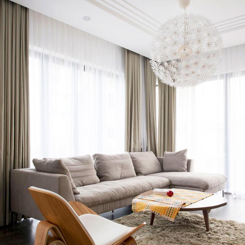 简约现代定制纯色棉麻窗帘成品北欧亚麻布料全遮光布卧室客厅加厚