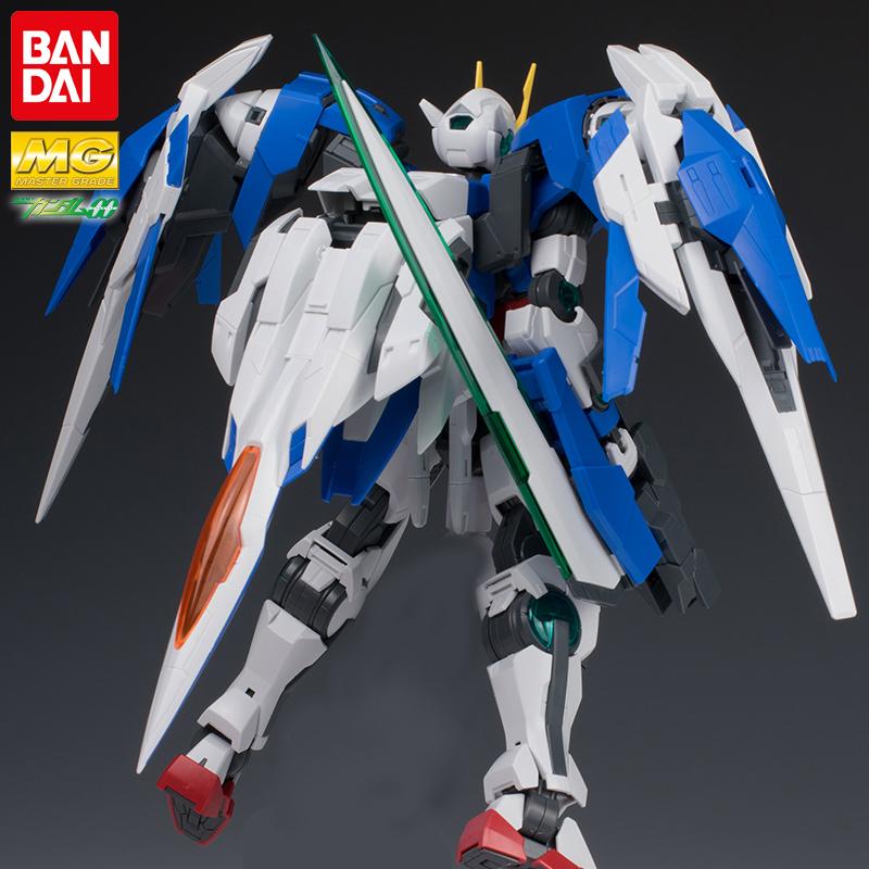万代高达拼装模型 MG 1/100 00R Raiser 00强化敢达 双零加升降翼