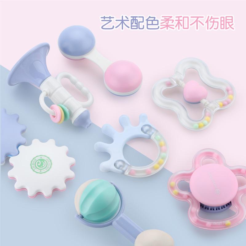 韩国GoryeoBaby牙胶手摇铃宝宝新生儿3612个月1岁幼儿童婴儿玩具