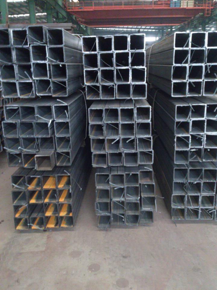 方管铁管70*70方型钢管75x75mm方形管90 空心63.5黑色120乘80毫米