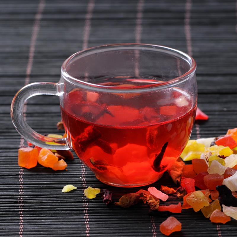 包邮 500g 新货果粒茶 水果沙拉水果茶 巴黎香榭花果茶 果粒茶