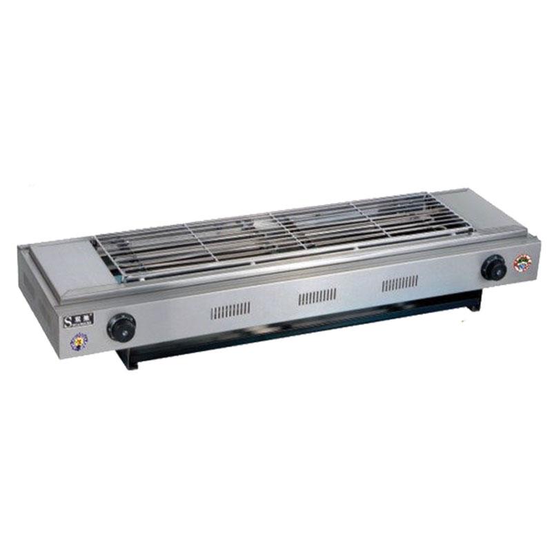 双弛SC-D110电热烧烤炉烤面筋烤花甲烤肉串电烤炉商用无烟烧烤炉