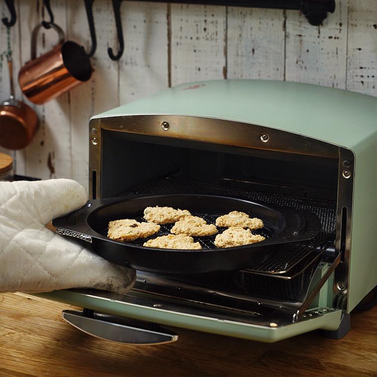 日食记千石阿拉丁AET-G15CA多功能电烤箱家用复古小型可烘焙