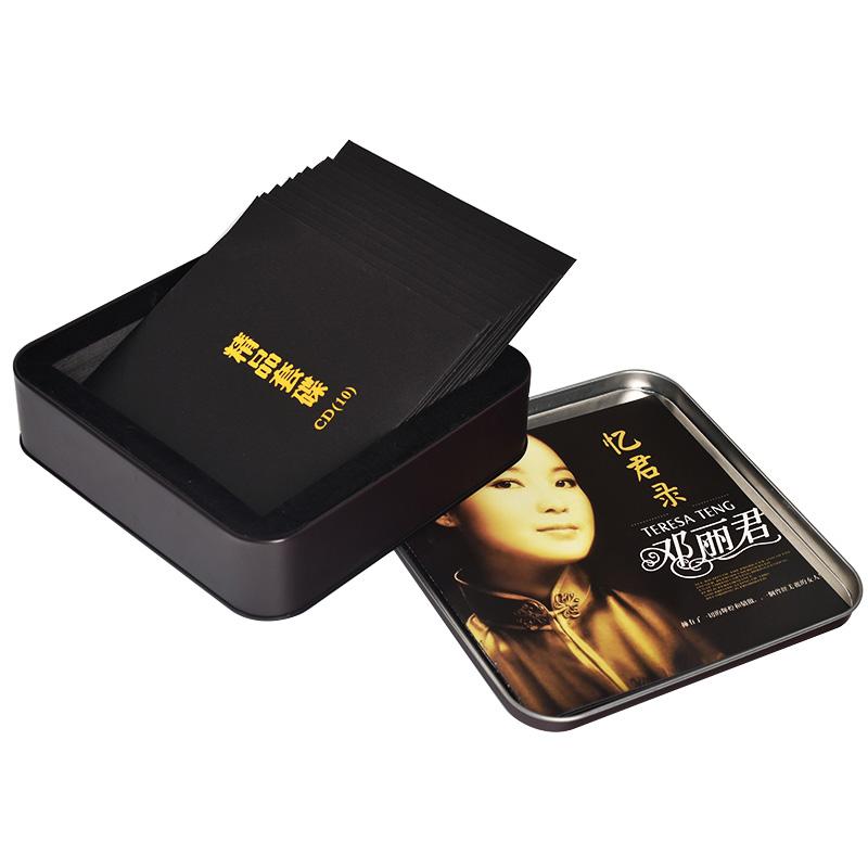 邓丽君经典老歌曲全集珍藏10CD碟片汽车载