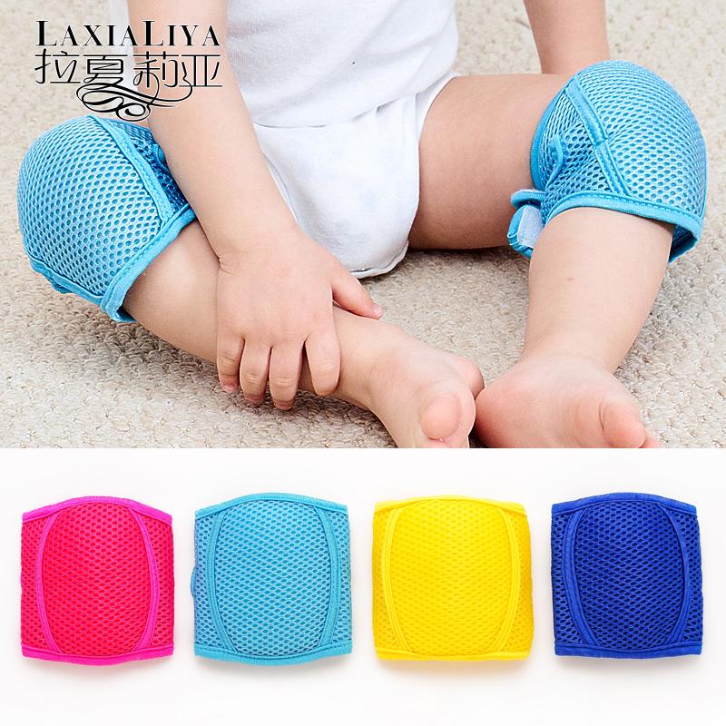 儿童护膝宝宝护肘婴儿爬行防摔运动幼儿学步小孩夏季学走路套夏天