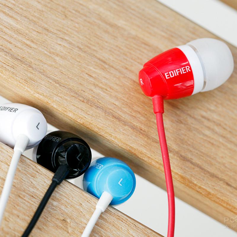 Edifier/漫步者 H210P手機耳機入耳式線控耳麥通話重低音帶麥通用