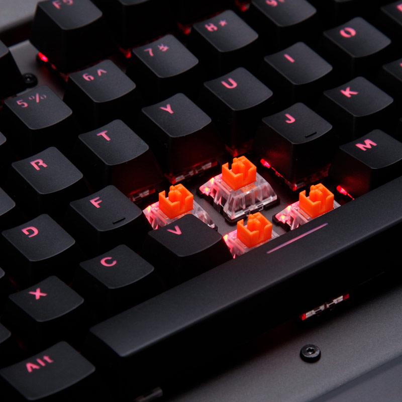 雷柏VT光轴机械游戏键盘鼠标 电脑笔记本防水宏编程全键无冲 吃鸡