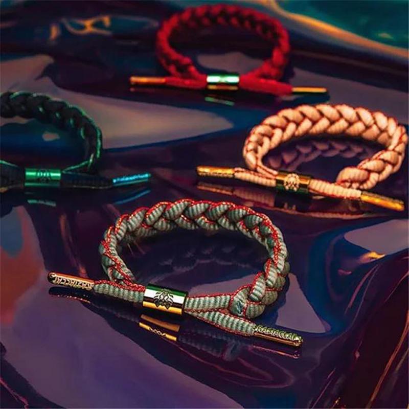 珠纱系列经典款迷你款嘻哈男女鞋带手链 小狮子官方正品 RASTACLAT