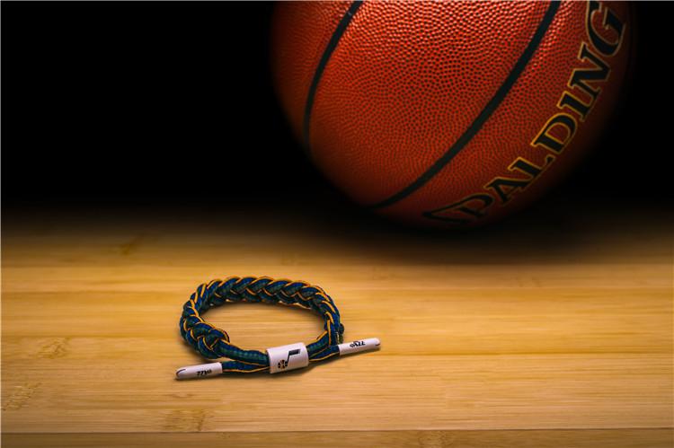 鞋带手链 经典款 犹他爵士队 系列 NBA 小狮子官方正品 RASTACLAT