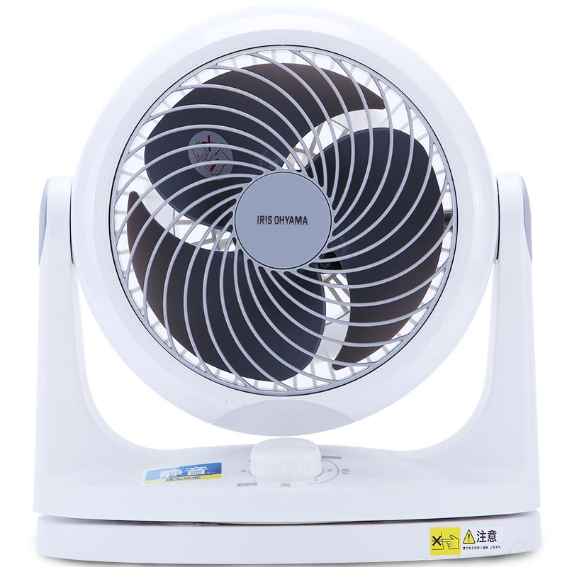爱丽思IRIS风扇家用电风扇台式日本台式循环扇台扇小涡轮空气对流