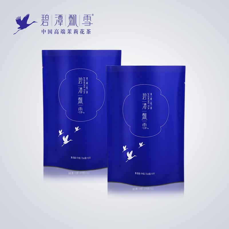 108g 茶叶单月装 体验装 茉莉花茶特级 碧潭飘雪 夏花新茶 2018