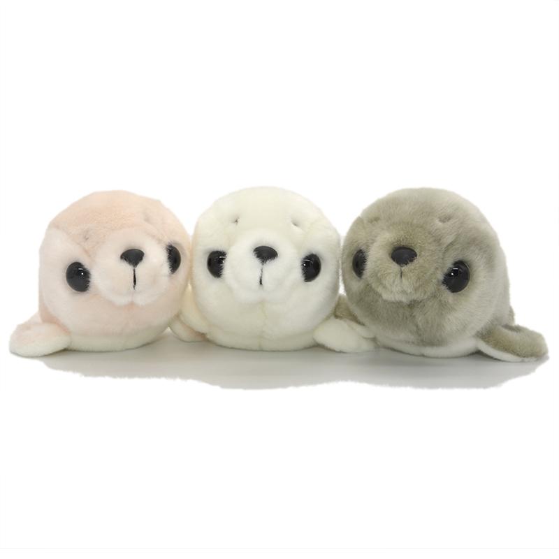 可爱海豹公仔仿真海狮毛绒玩具水族馆纪念品娃娃女生儿童生日礼物