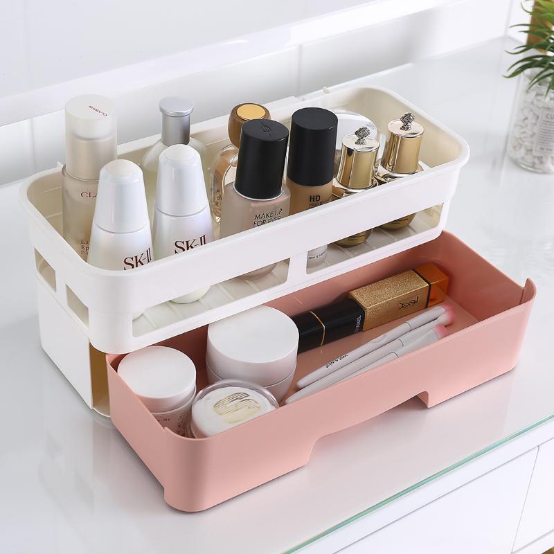 衛生間置物架洗手間浴室洗漱臺廁所免打孔壁掛墻上化妝品收納盒
