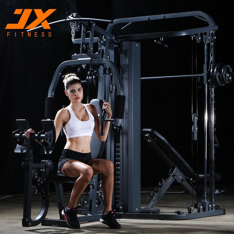军霞大型龙门架多功能综合训练器大飞鸟组合深蹲架健身器械家用