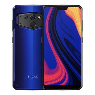 sugar C21糖果电霸6100mAh大电池4+64G双卡双待4G全网通全面屏双摄拍照手机 智能手机