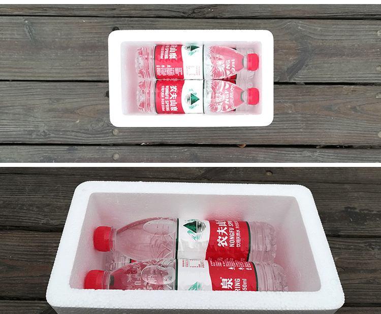 邮政5号泡沫箱保温箱批发 生鲜果蔬水产海鲜牛奶食品级保鲜箱包邮