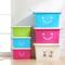 收纳箱塑料特大号衣服加厚家用清仓整理箱大号衣物收纳盒储物箱子